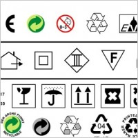 Link toTo do a design often used in environmental standards such as ce trash icon