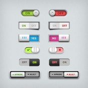 Link toToggle switch ui design