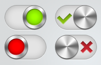 Link toToggle switch variations psd