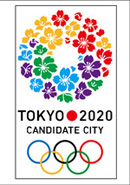 Link toTokyo 2020 olympic games vector