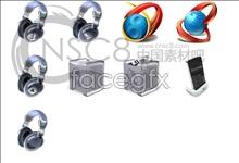 Tools designed desktop icons