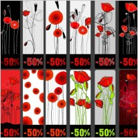 Link toTopic discount tag vector flowers