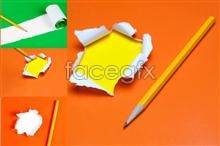 Link toTorn paper and trace a pencil psd