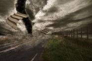 Link toTornado storm scene pictures
