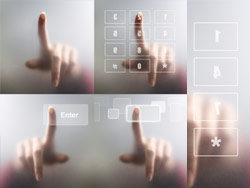Link toTouch screen with finger-hd pictures