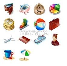 Link toTourism and travel application icons