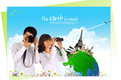 Link toTourist couple psd material