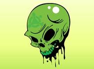 Link toToxic skull vector free