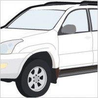 Link toToyota car vector