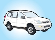 Link toToyota land cruiser vector free