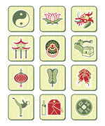 Link toTraditional chinese icon vector