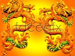 Link toTraditional dragon reliefs psd
