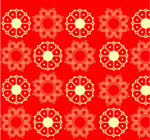Link toTraditional festive patterns vector
