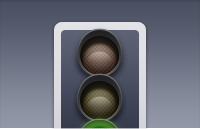 Link toTraffic light icon psd