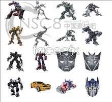 Transformers movie icons