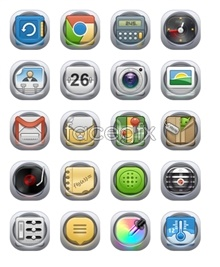 Link toTranslucent phone desktop icons