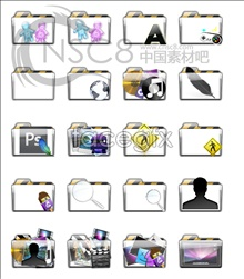 Link toTransparent folder icons