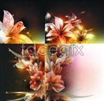 Link toTransparent lilies vector
