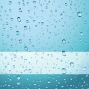 Link toTransparent water drops design background vector 02 free
