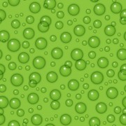 Link toTransparent water drops with green background vector seamless pattern free