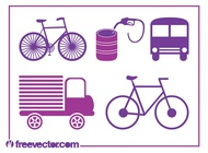 Link toTransport icons vectors free