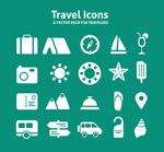 Link toTravel icon design vector