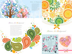 Link toTree leaf illustrations vector