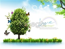Link toTree of happiness free psd