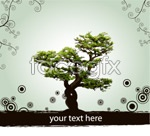 Link toTree pattern dots vector