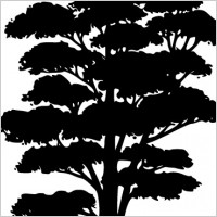 Link toTree silhouettes clip art