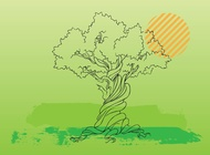Link toTree vector illustration free