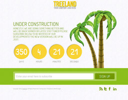 Link toTreeland - under construction theme