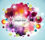 Link toTrend flower background vector