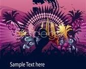 Link toTrend flower pattern background design source files psd