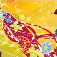 Link toTrend flowers vector material