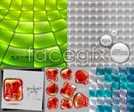 Link toTrend glass texture vector