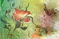 Link toTrend of gorgeous flowers illustration vector art ii