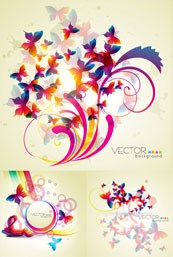Link toTrend of the butterfly silhouette vector background maps