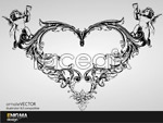 Link toTrend pattern hearts vector