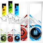 Link toTrend theme banners vector