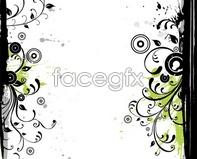 Link toborder lace floral vector Trend