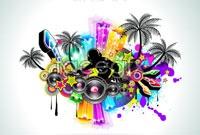 Link toTrends mobile dj music dj vector graphic