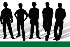Link toTrends youth silhouettes vector