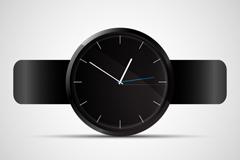 Link toTrendy black watch vector