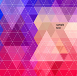 Link toTriangle combination background vector