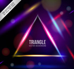 Link toTriangle magic background vector