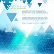 Link toTriangle technology abstract background vector 02 free