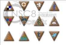 Link toTriangular desktop icons