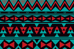Link toTribal style seamless vector background illustration