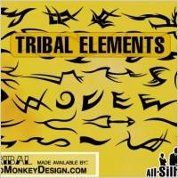 Link toTribal tattoo elements